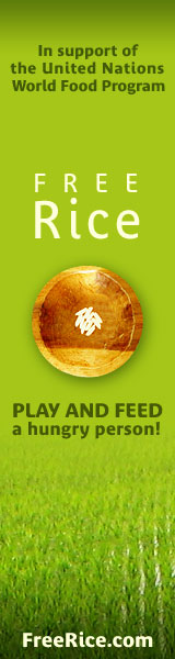 play FreeRice and help a hungry person